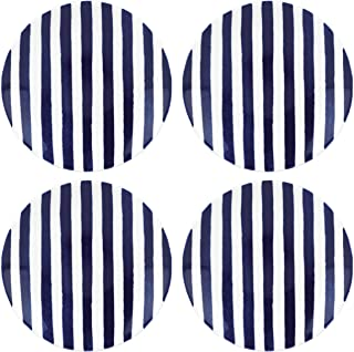Kate Spade 844065 Charlotte Street 4-piece Tidbit Plate, 1.75 LB, Blue