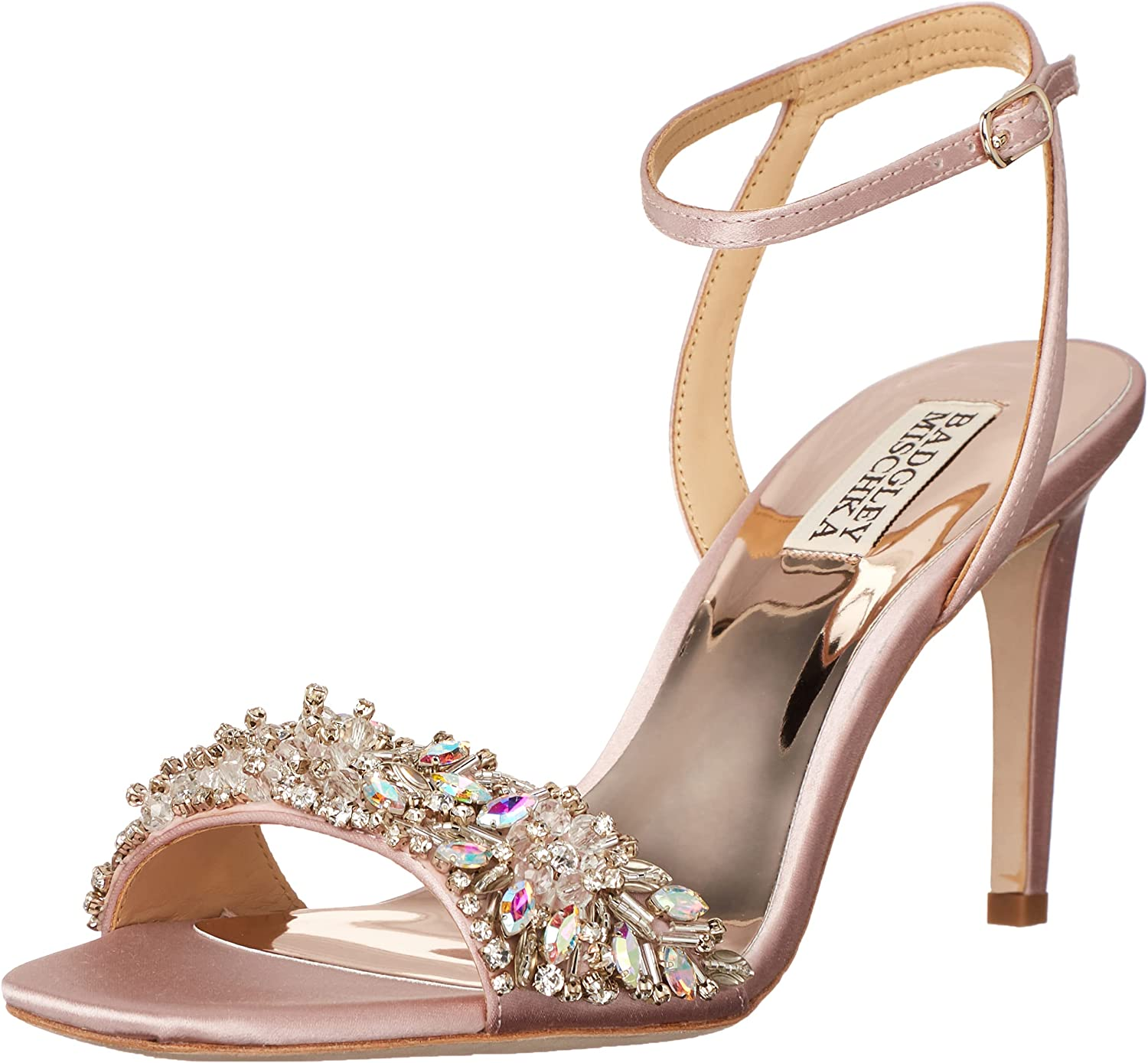 Badgley Cheap mail order Large-scale sale sales Mischka Women's Heeled Rider Sandal