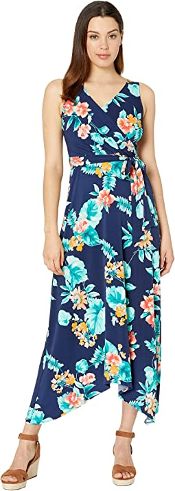 b5564eb976d5 Donna morgan v neck shift dress w tie at center front neck | Shipped ...