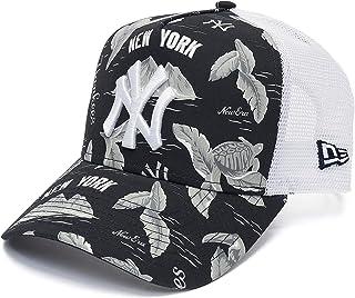 3229f887e162b New Era Femme Casquettes Trucker Mesh MLB NY Yankees Desert Island 9forty A- Frame