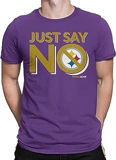 Baltimore Football T-Shirt, Just Say No