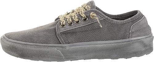Dude zapatos Buster hombres Lava gris Oscuro
