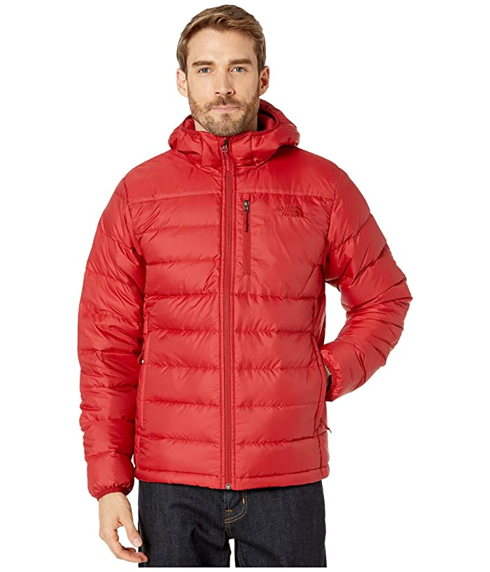 The North Face  Aconcagua Hoodie (Cardinal Red) Mens Sweatshirt