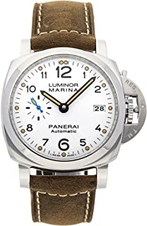 Panerai Luminor Mechanical (Automatic) White Dial Mens Watch PAM 1523 (Certified Pre-Owned)