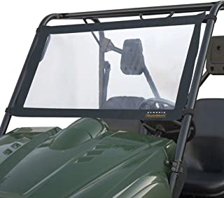 Classic Accessories QuadGear UTV Windshield For Kawasaki Mule 2500/3000 & Polaris Ranger, Black