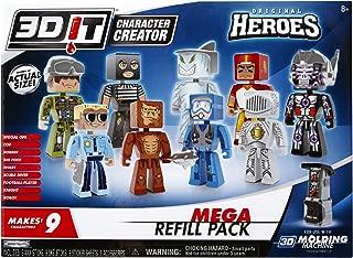 3DIT Original Heroes Mega Refill Set