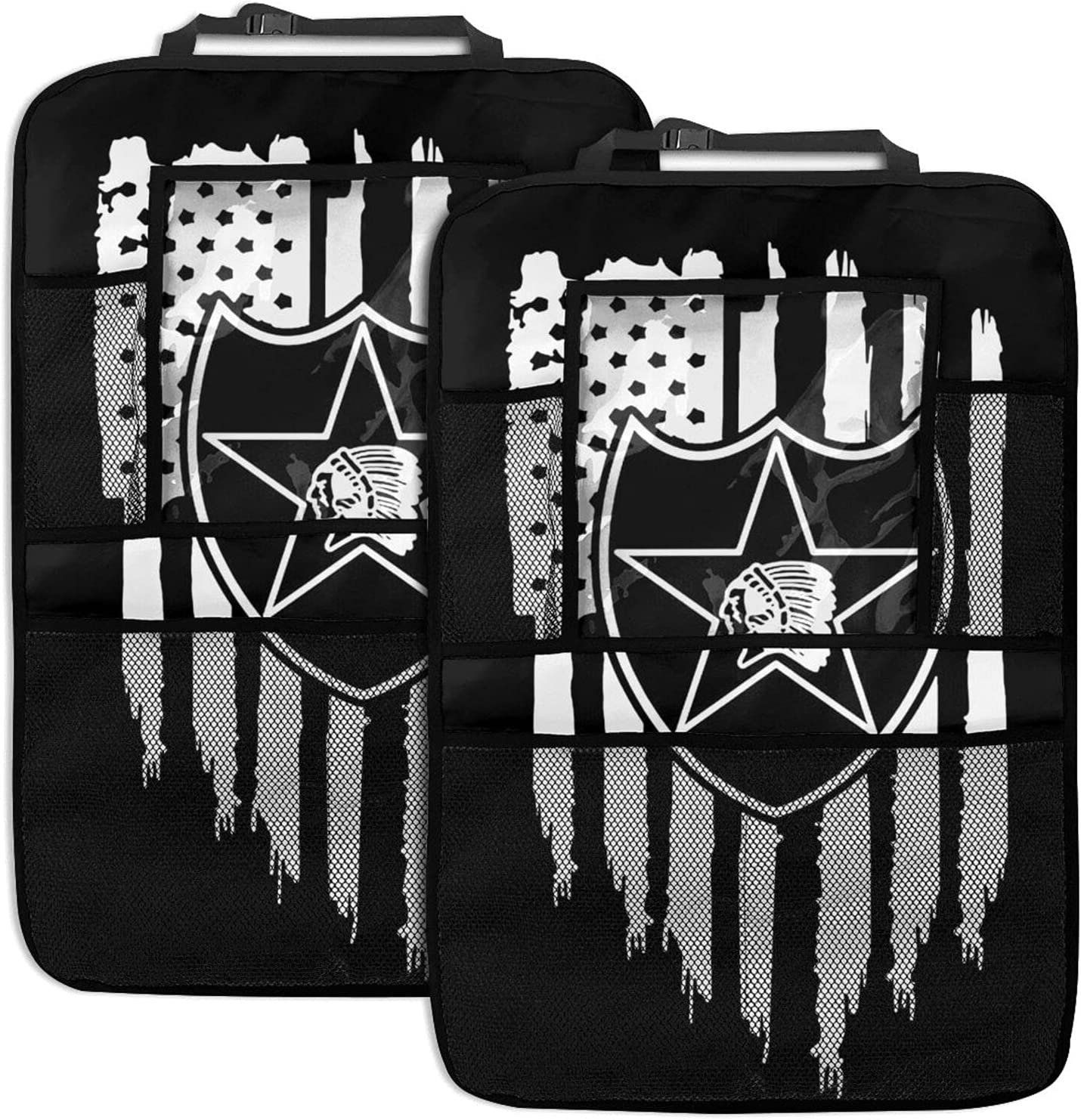 Us Army 2nd Infantry Division Car Oakland Mall Organizer Omaha Mall Backseat Veteran 2pc