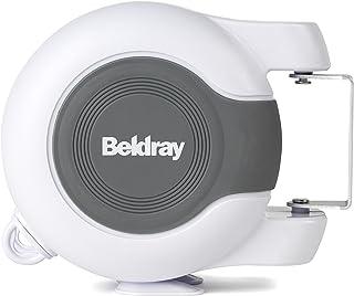 Beldray LA027016FBA Fil à Linge Double Lavage rétractable LA027016EU pour Une Utilisation à l'extérieur, 26mètres, Plasti...