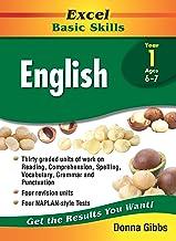 Excel Basic Skills Workbook: English Year 1