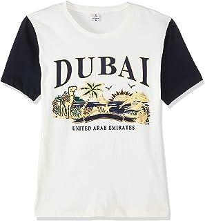 Dubshi D48 Men's Dubai T-shirt, Off-White