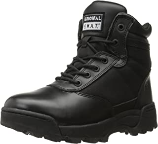 Men's Classic 6 Inch Side-Zip Military and Tactical Boot
