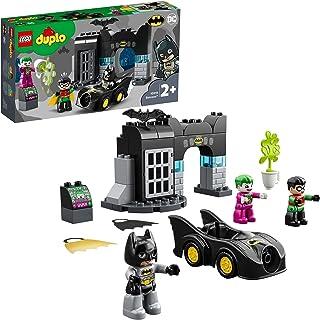LEGO DUPLO 10919 Jaskinia Batmana z figurkami superbohaterów; świetny kreatywny prezent dla maluchów (33 elementy)