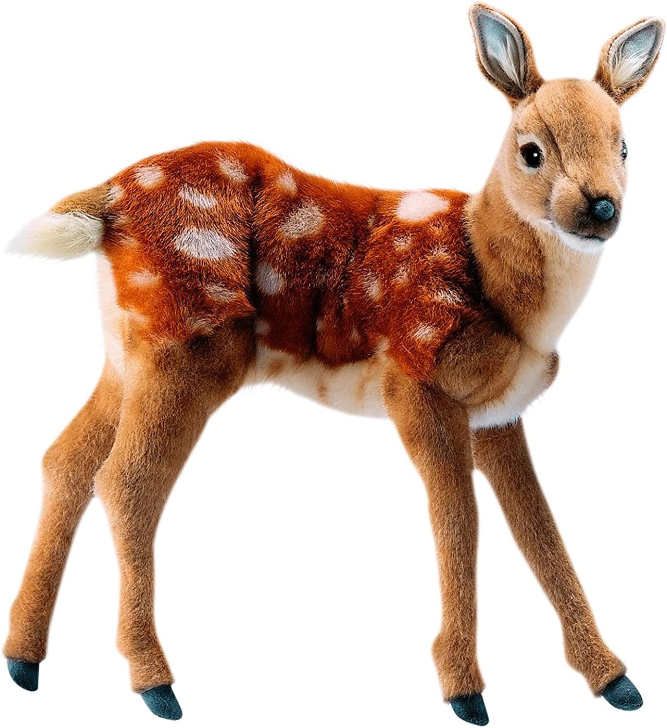 Plush Soft Toy Standing Deer (Fawn) By Hansa. 36cm. 5017