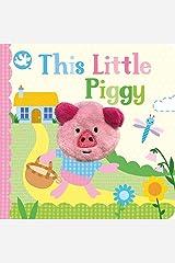 Little Learners This Little Piggy Finger Puppet Book (Little Learners Finger Puppet) Board book