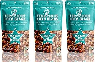 Ferocious Beans 3 Pack Sea Salt Flavor Protein Snack