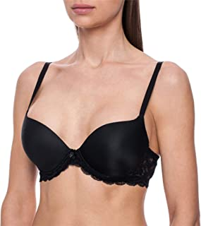 Women's Silicone Filled Water Push-Up Sexy T-Shirt Bra