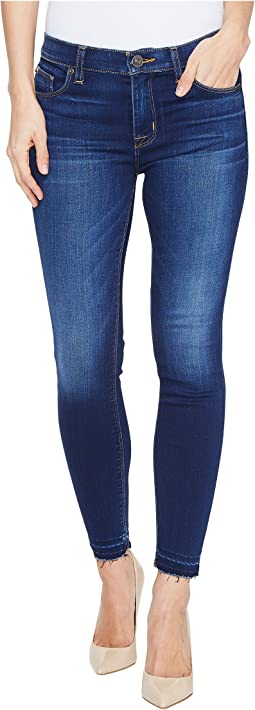Nico Mid-Rise Crop Skinny with Released Hem Five-Pocket Jeans in Newcomer