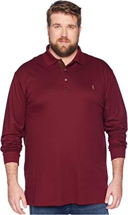 Big & Tall Long Sleeve Soft Touch Polo