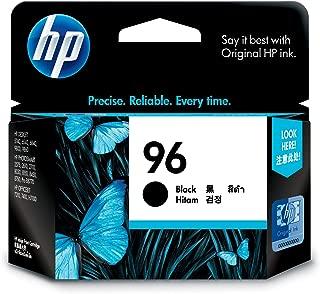HP 96 Original Black Ink Cartridge, Black (C8767WA)