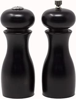 """Best Olde Thompson 6"""" Caffe Wood Pepper Mill and Salt Shaker Set Review"""