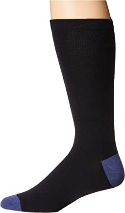 Merino Wool Color Blocked Crew Sock