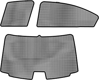 3D MAXpider S1SB0110 Soltect Complete Set Custom Fit Sun Shade (for Select Subaru WRX Models)