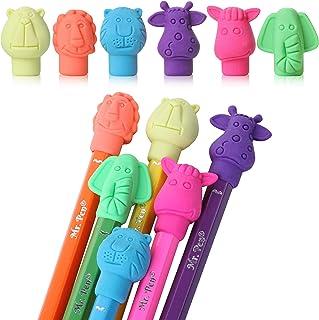 Mr. Pen- Erasers, Cap Erasers, 60 Pack, Animal Eraser Caps, Erasers for Kids, Pencil Eraser, Pencil Erasers Toppers, Erase...