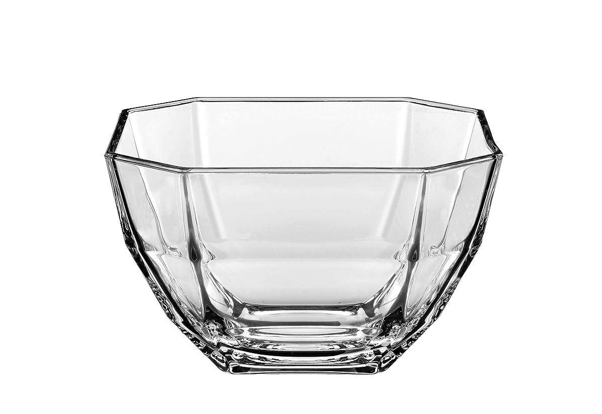 韻摂動サポートBarski?–?欧州品質?–?ガラス?–?Set of 6?–?Small Bowls?–?Octagon?–?に使用できた、小さなフルーツ/ナット/デザート?–?各ボウルは4.3?