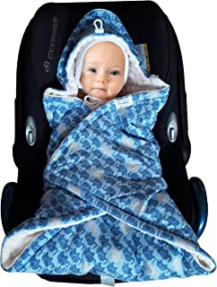 SSWADDYL Baby Bunting Bag I Swaddle Blanket I Universal for Car Seat Graco Chicco Britax | Stroller | Baby Bed I Made in E...