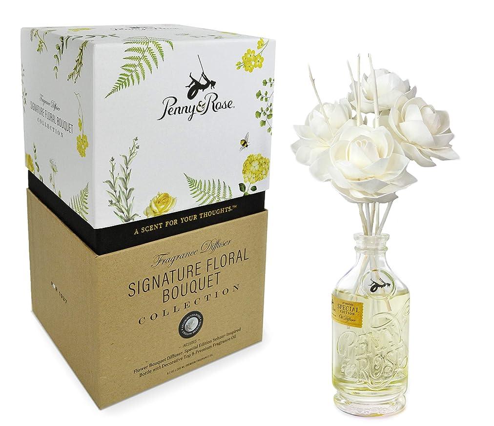 思い出させる狂気補体Penny & Rose Floribunda バラの花のオイルディフューザー ホームフレグランスの香り スプリングハウス スイカ
