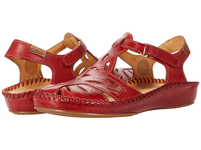 1950s Style Shoes | Heels, Flats, Boots Pikolinos Puerto Vallarta 655-8312 Coral Womens Shoes $160.00 AT vintagedancer.com