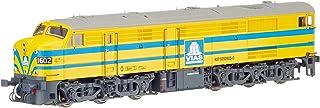 "Electrotren E2415D dieselokomotiv serie 316 (1602) ""Vias DC digital modellbana, gul/blå"
