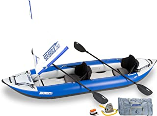 Sea Eagle 380x Inflatable Explorer Kayak QuikSail Package