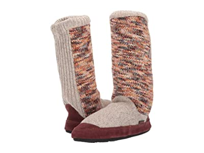 Acorn Slouch Boot (Sunset Cable Knit) Women