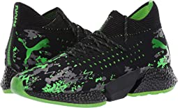 Puma Black/Charcoal Gray/Green Gecko