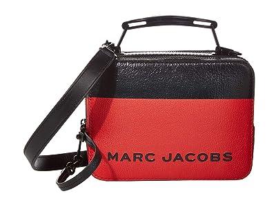 Marc Jacobs The Box 20 Satchel (Rouge Multi) Handbags