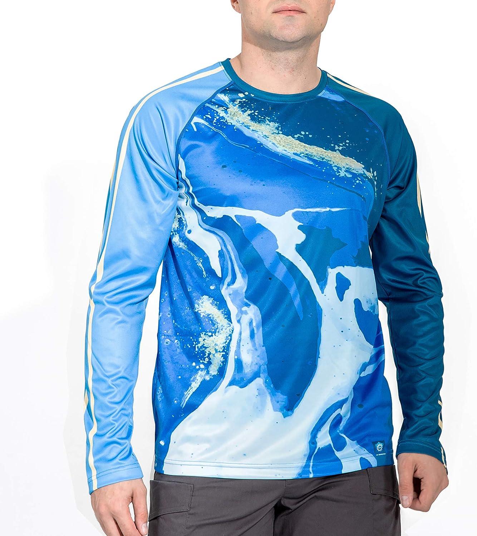 Hiking Shirts Hoodie Sun Protection UV Long Sleeve SPF Outdoor Tops Thumbholes voofly Mens UPF 50