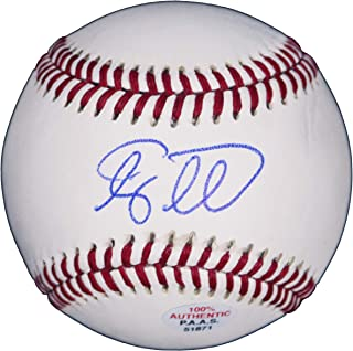 Tim Tebow New York Mets Signed Autographed Rawlings Official League Baseball PAAS COA