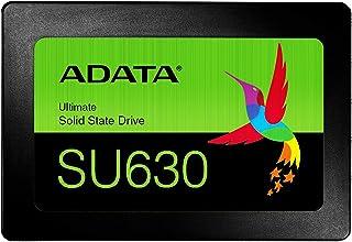 ADATA 2.5インチ 内蔵SSD 480GB SU630シリーズ 3D NAND QLC搭載 SMIコントローラー 7mm ASU630SS-480GQ-R