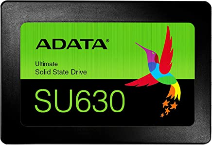 ADATA ASU630SS-240GQ-R Solid State Drives, 240 GB, 2.5-Inch, Negro