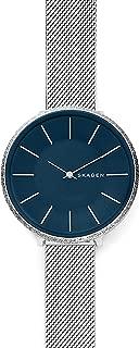 Skagen Women's SKW2725 Skagen Karolina Silver-Tone Analogue Wrist Watch, Silver, Medium