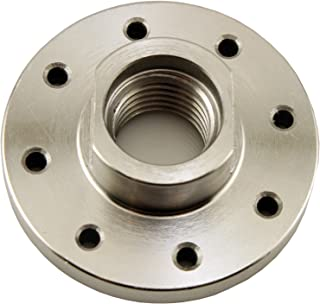 """PSI Woodworking CF3J Lathe Faceplate for 1"""" x 8 tpi Spindle, 3"""" Without Screwchuck"""