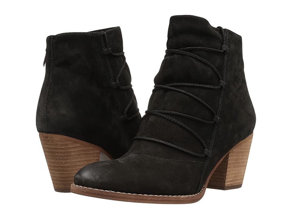 Sam Edelman Millard (Black Jabuck Nubuck Leather) Women