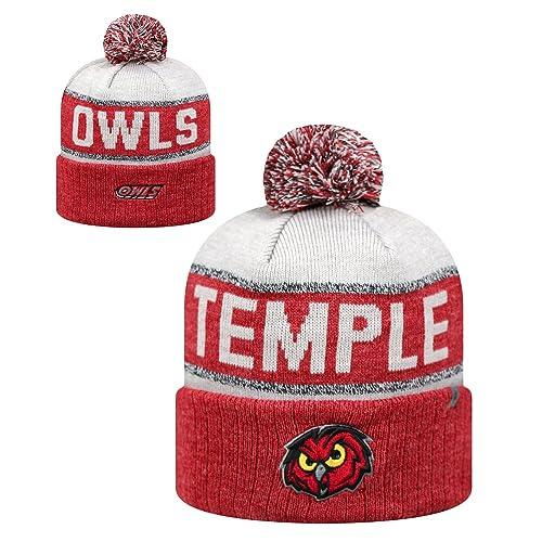 f9e288712 best temple owls knit hat e8526 7cd2a