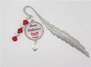 marque page personnalisable cadeau pour une maîtresse, une amie, une copine, idée cadeau fin d'année scolaire, fêtes des é...