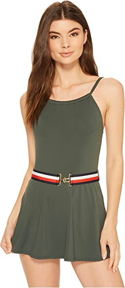 Sporty Hippie High Neck Swimdress