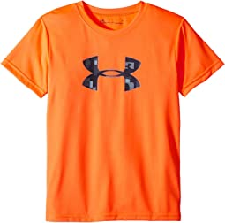 Under Armour Kids Wordmark Big Logo Short Sleeve Tee (Little Kids/Big Kids)