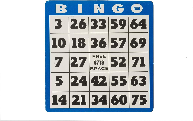 Max 63% OFF Large Print Bingo Card gift