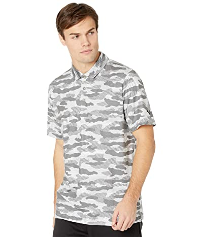 PUMA Golf Cloudspun Camo Polo (PUMA Black) Men
