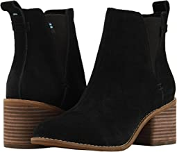 5a49f738921 Toms desert wedge black suede